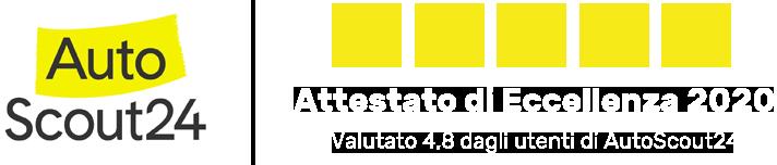 Attestato eccellenza AutoScout 2020